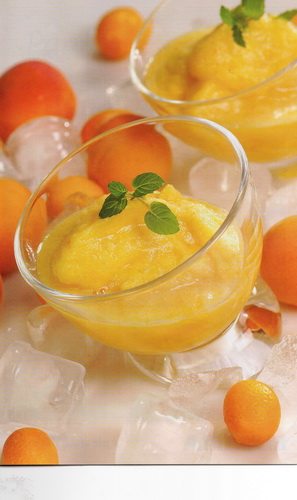 Apelsinų ir imbierų šerbetas