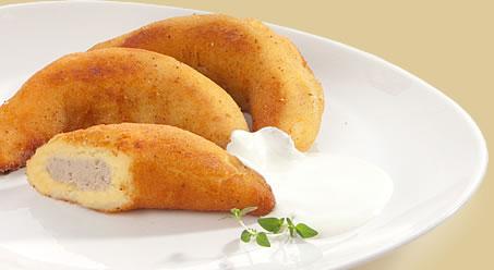 Bulviniai rageliai su vištienos įdaru