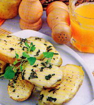 Patiekalas: Bulvės su sūrio plutele