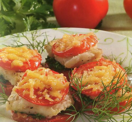 Sterkas su pomidorais ir sūriu