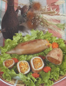 Kalmarai įdaryti morkomis