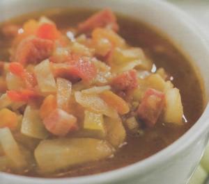Aštrioji kopūstų sriuba