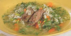 Aštri ir soti avienos sriuba