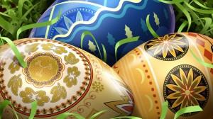 Piešti velykų kiaušiniai - margučiai