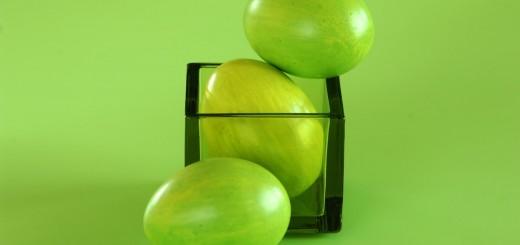 Žali margučiai primenantys citrinukus