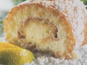 Kokosinis vyniotinis su citrinų įdaru