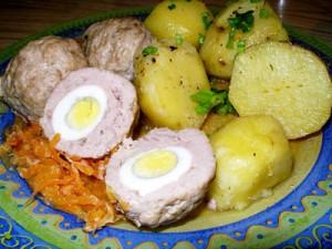 Kotletukai su putpelių kiaušiniais