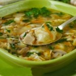 grikiu sriuba su grybais ir bulviu kukuliukais