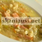 raugintu agurku sriuba