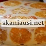 zelinis tortas su apelsinais (2)