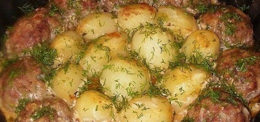 kotletai ir bulves grietines ir pomidoru padaze (2)