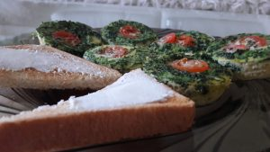 Maži omletukai kepti orkaitėje