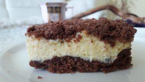 Prancūziškas kakavinis varškės pyragas