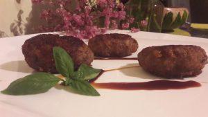 Miško grybų ir mėsos kotletukai