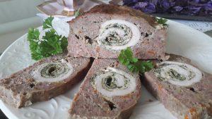 Maltos mėsos kepsnys su įdaru