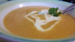 Moliūgų ir cukinijų sriuba