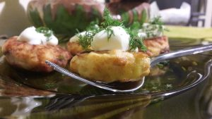 Bulvių ir silkių kotletukai