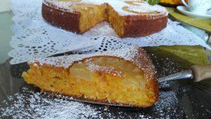 Morkų ir anansų pyragas