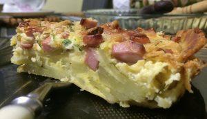Bulvių pica - pyragas