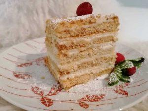 Lakštinis medaus pyragas
