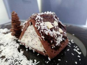 Kalėdiniai sausainių ir varškės nameliai