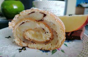 Obuolių pyrago vyniotinis