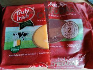 Čederio sūris, kurį naudoju